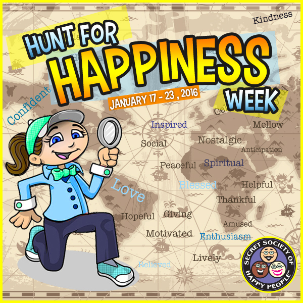 Hunt For Happiness Week 2016