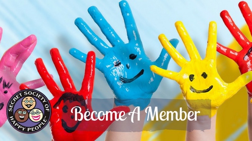 Become An Amused Member Secret Society of Happy People