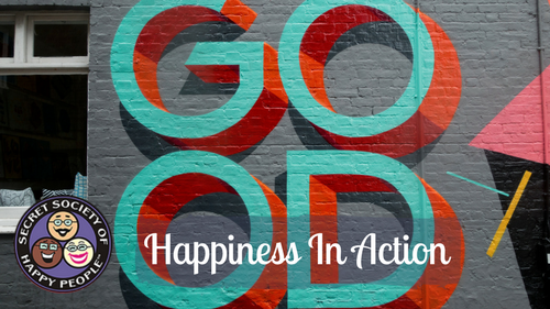 Happiness In Action Secret Society of Happy People Facebook Page