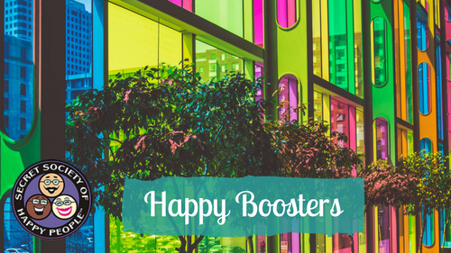 Happy Boosters 2017 Secret Society Of Happy People