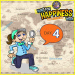 Hunt For Happiness Week - Day 4 Activities - Secret Society of Happy People