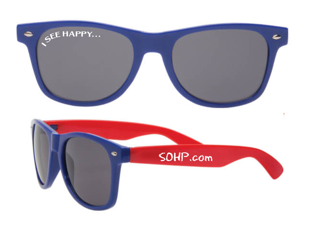 Sunglasses 8855 SOHP Blue - Red