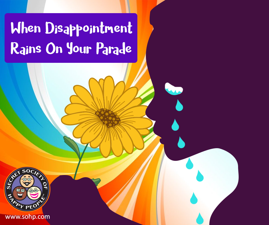dealing with disappointment, expectation management, anger and disappointment