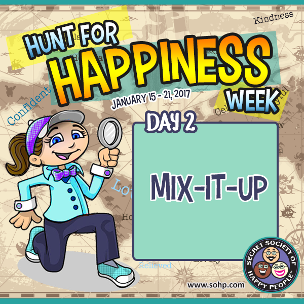 Hunt For Happiness Week 2017, Secret Society Of Happy People, SOHP.com