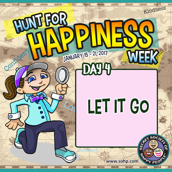 Hunt For Happiness Week 2017 , Secret Society of Happy People, SOHP.com