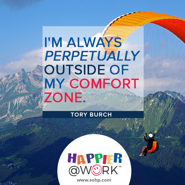 Happier @ Work, Pamela Gail Johnson, SOHP.com, employee motivation made easier, I'm perpetually outside of my comfort zone