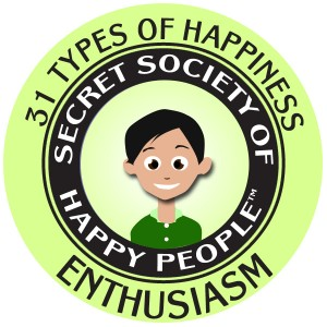 Enthusiasm 300x300 What Is Happiness?