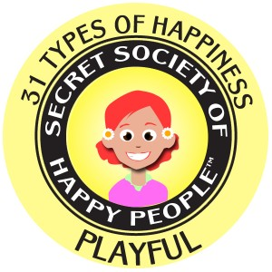 Playful 300x300 What Is Happiness?