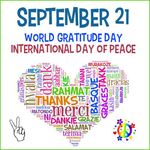 A Day Of Gratitude And Peace