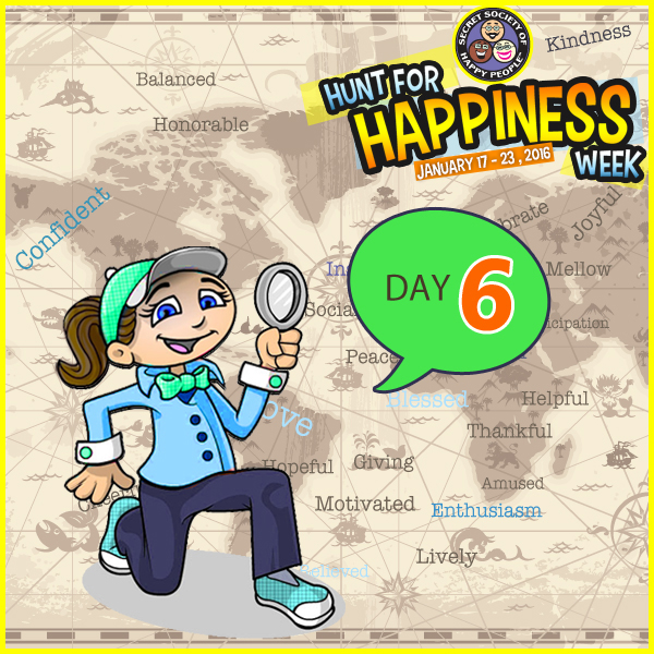 Hunt For Happiness Week – January 22, 2016