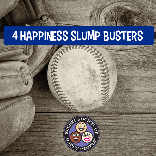 4 #Happiness Slump Busters