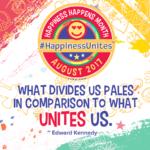 Happiness Happens Month 2017, Secret Society of Happy People, SOHP.com, Pamela Hail Johnson, Happiness Unites
