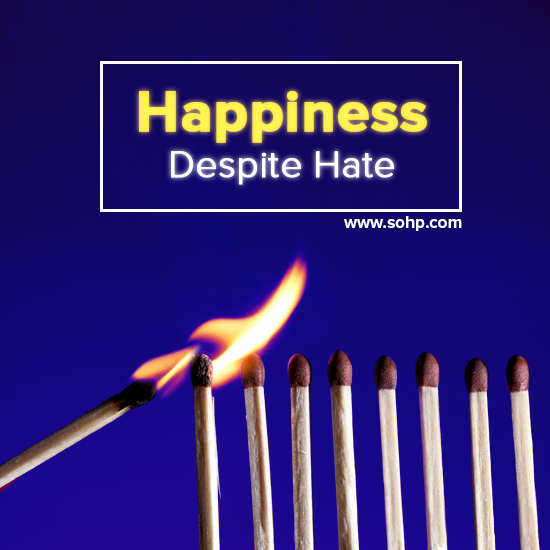 Happiness Despite Hate #HappinessUnites