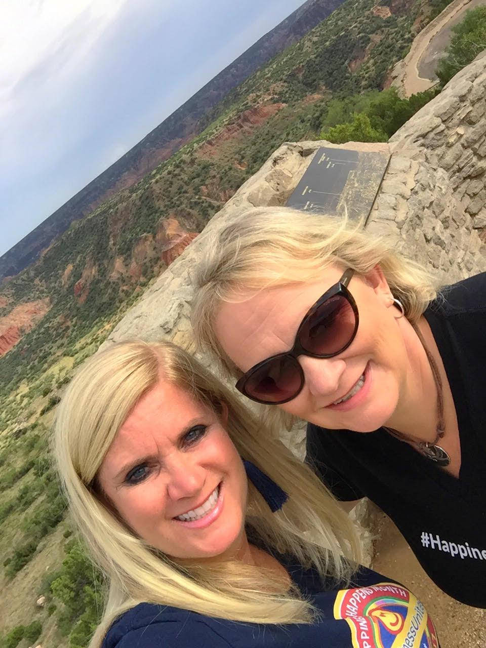 HappinessUnites Tour Amarillo, Happiness Happens Month, #HappinessUnites, Secret Society of Happy People, SOHP.com, Pamela Gail Johnson, Amarillo TX, Palo Dura Canyon