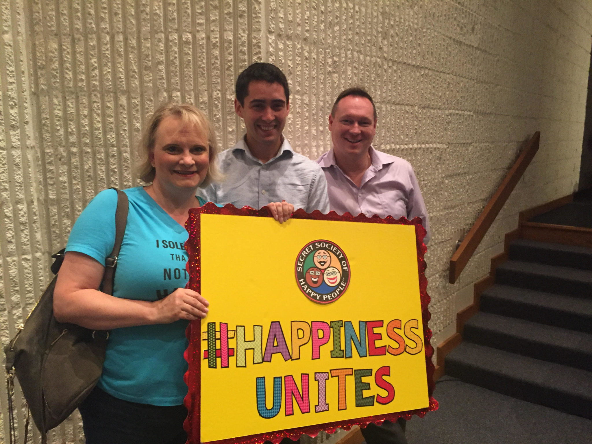 #HappinessUnites Tour, Patriotism, Congressman Burgess, SOHP.com, Pamela Gail Johnson