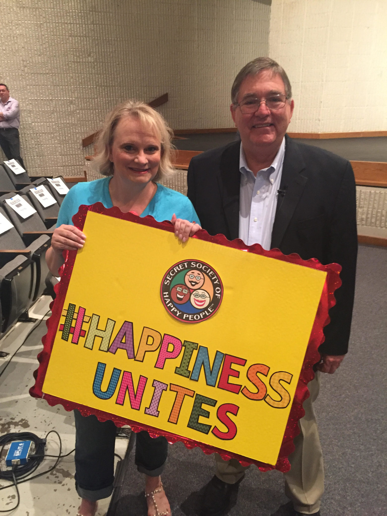 #HappinessUnites Tour Patriotism, Pamela Gail Johnson, Congressman Burgesss