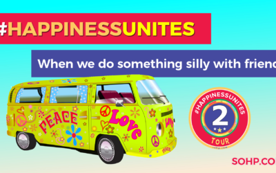 #HappinessUnites Tour: Second Stop – Being Silly With Friends