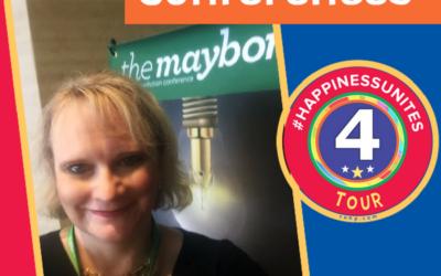 #HappinessUnites Tour: Stop 4 – Conferences