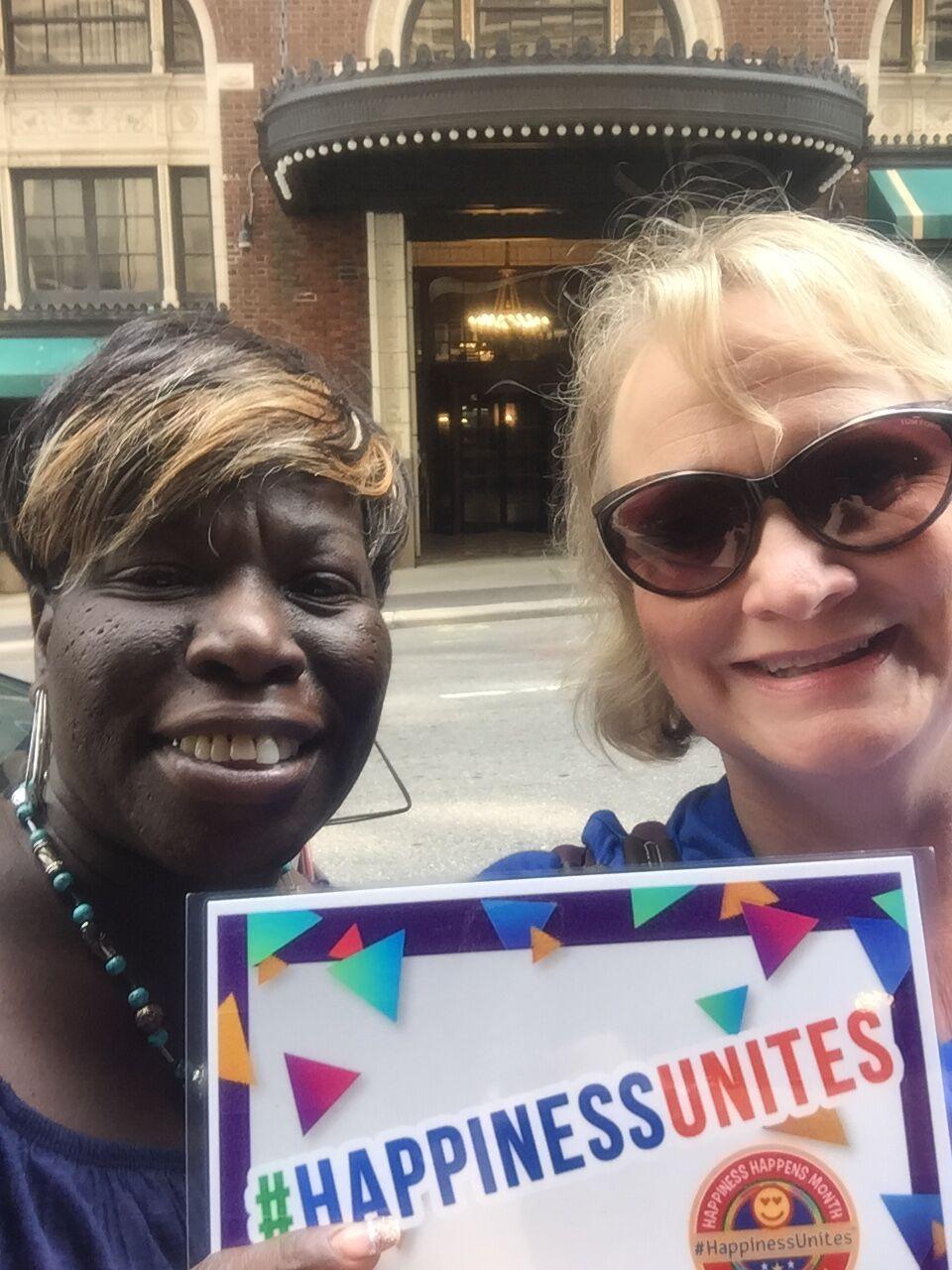 #HappinessUnites Tour, #HappinessUnites, SOHP.com, Pamela Gail Johnson,
