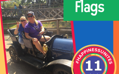 #HappinessUnites Tour – Stop 11: Six Flags