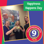 #HappinessUnites Tour, #happinessunites, SOHP.com, Pamela Gail Johnson, Happiness Happens Day