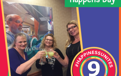 #HappinessUnites Tour – Stop 9: Happiness Happens Day