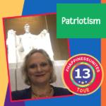 #HappinessUnites Tour, Patriotism, Washington DC, Lincoln Monument, Pamela Gail Johnson, SOHP.com, #HappinessUnites