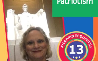 #HappinessUnites Tour – Stop 13: Patriotism