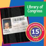 #HappinessUnites Tour, Library of Congress, SOHP.com, Pamela Gail Johnson