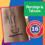 #HappinessUnites Tour, Piercings, Tattoos, SOHP.com, Pamela Gail Johnson