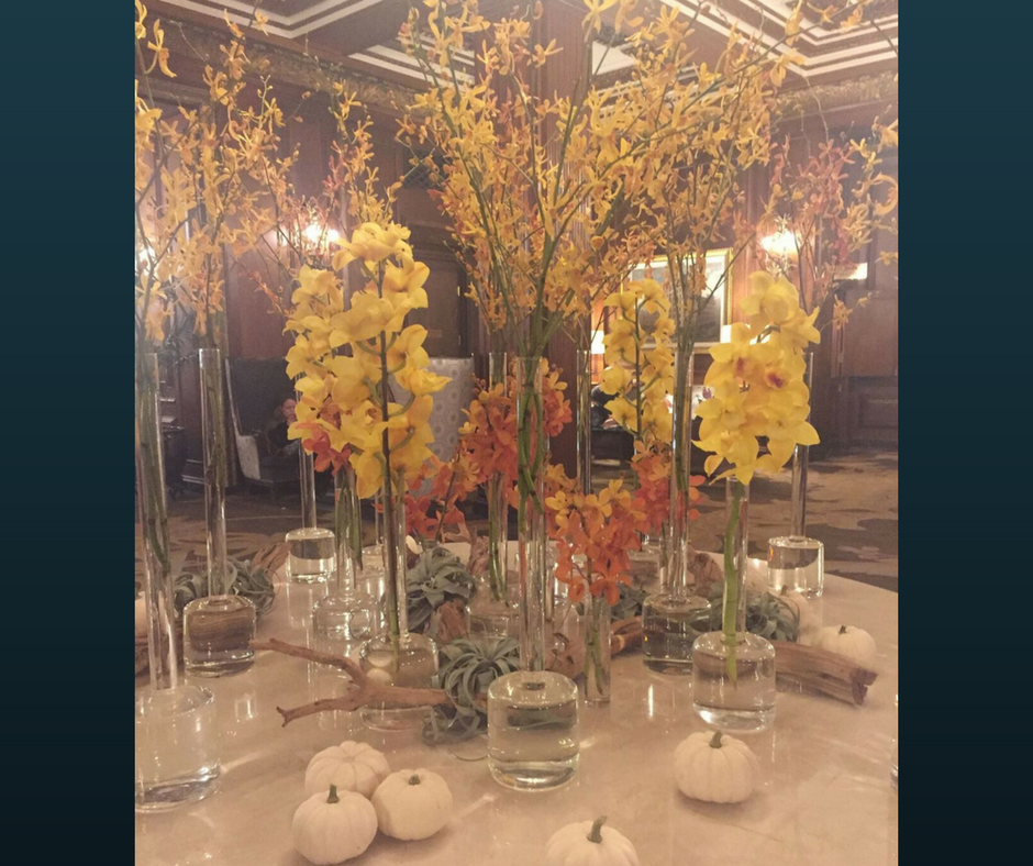 Centerpiece - Omni Parker House - Boston, MA, #HappinessUnites, #HappinessUnites Tour, SOHP.com, Secret Society of Happy People, Pamela Gail Johnson
