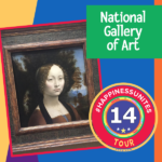 #HappinessUnites Tour, National Gallery Of Art, Pamela Gail Johnson, SOHP.com