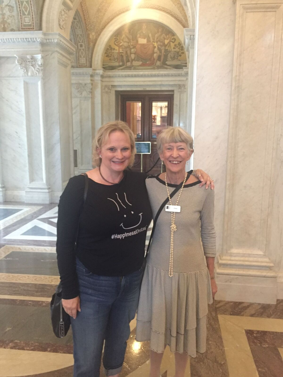 Library of Congress, SOHP.com, Pamela Gail Johnson, #HappinessUnites Tour