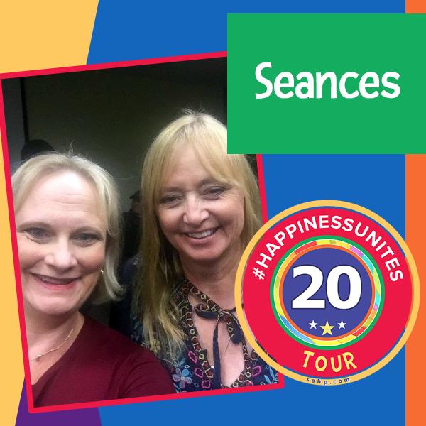 Seances, #HappinessUnites Tour, #HappinessUnites, SOHP.com, Secret Society of Happy People