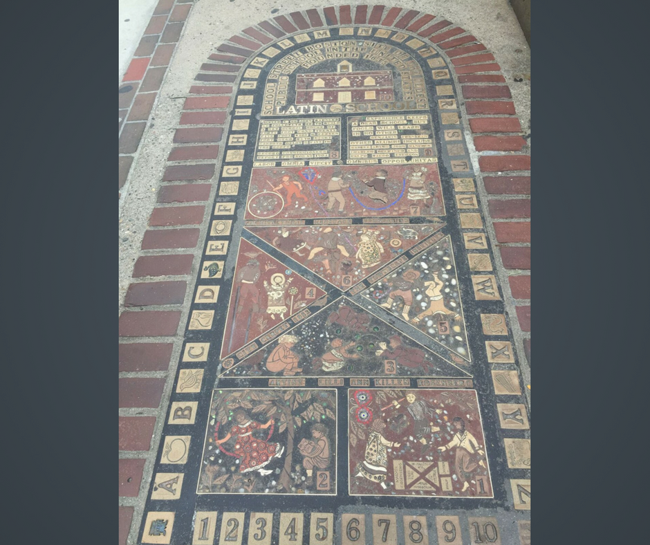 Mosaic - Boston Latin School - Old City Hall - Boston, MA, #HappinessUnites Tour, #HappinessUnites, SOHP.com, Pamela Gail Johnson
