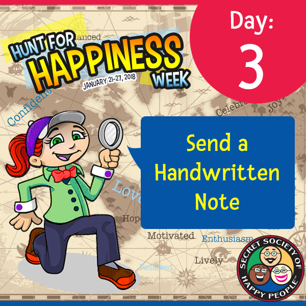 Hunt For Happiness Week – Day 3 – January 23, 2018