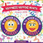 Happiness Happens Month 2018, HHM2018, Secret Society of Happy People, SOHP.com, Pamela Gail Johnson