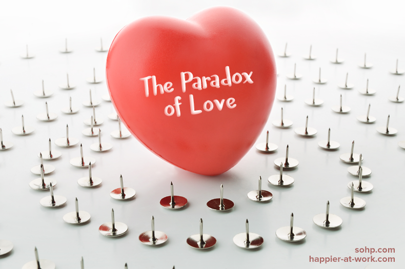 the paradox of love, secret society of happy people, SOHP.com, Valentine's Day, Pamela Gail Johnson