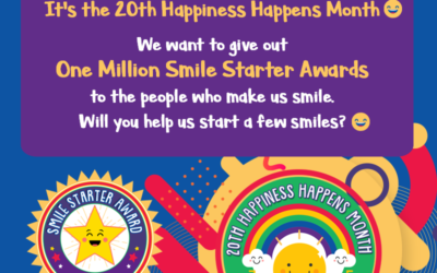 Happiness Happens Month — Let's Recognize One Million Smile Starters