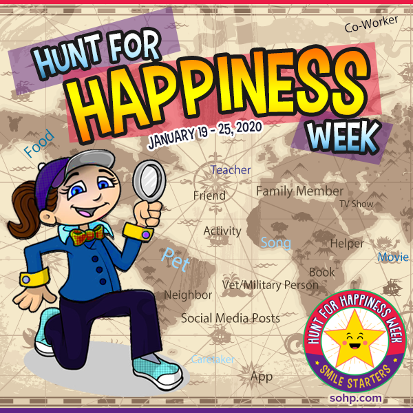 ???? Day Seven: Hunt for Happiness Week ????