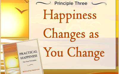 Practical Happiness Principle: Happiness Changes As You Change