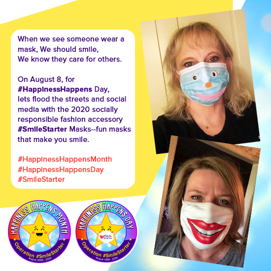 ❤️ SOHP Weekly:  Can You be a #SmileStarter on Happiness Happens Day?